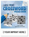Custom LARGE PRINT Crossword Puzzle Book - Volume 1