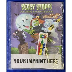Scary Stuff Coloring & Activity Book Fun Pack