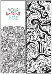 Custom Coloring Bookmark - ZenDoodle