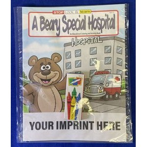 A Beary Special Hospital Coloring Book Fun Pack