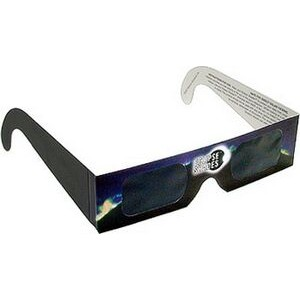 Eclipse Glasses - Safe Solar Viewers - Stock (Blue)