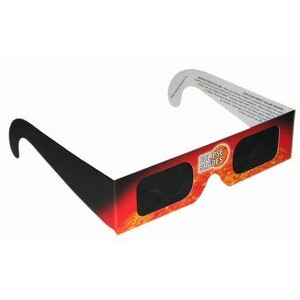 Eclipse Glasses - Safe Solar Viewers - Stock (Orange)