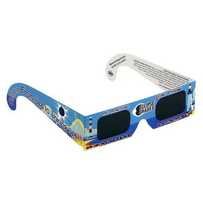 Eclipse Glasses - Safe Solar Eclipse Viewers - Custom Imprint