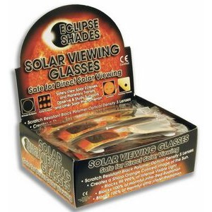 Eclipse Glasses - Safe Solar Viewers - Retail Displays