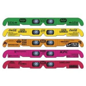Fireworks Glasses - Neon Frames - w/ Detachable Coupons