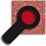 Custom Spy Glass Decoder - Red Reveal Lens - Stock