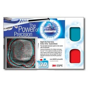3D Greets Post Cards - Red/Cyan Lenses - Custom Imprint