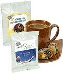 Custom Healthcare Hot Chocolate w/ White Foil Packing (Printed Label)