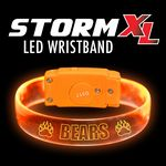 Custom STORM-XL LED Wristband