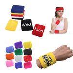 Custom Cotton Wrist Sweatband