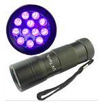 Custom 12 LED UV Flashlight