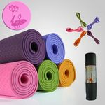 Custom TPE Yoga Mat & Carrying Case