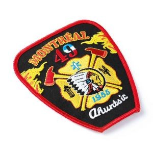"Embroidered Patches (5"") (75% Coverage)"