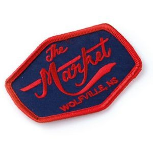"Embroidered Patches (2.5"") (100% Coverage)"