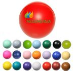 Custom Classic Round Awareness Squeezable Stress Reliever Ball