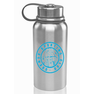 27 oz Double Wall Stainless Steel Vacuum Insulated Bottles With Screw Top Lid