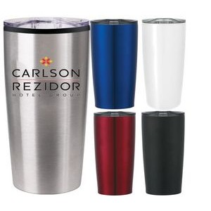 20 oz Double Wall Insulated Travel Tumbler Mug with Lid