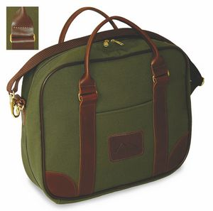 Canvas And Leather Attache (Dyed Canvas)