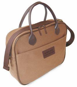 Corporate Attache w/Spade Handles (Ballistic Nylon/Leather)