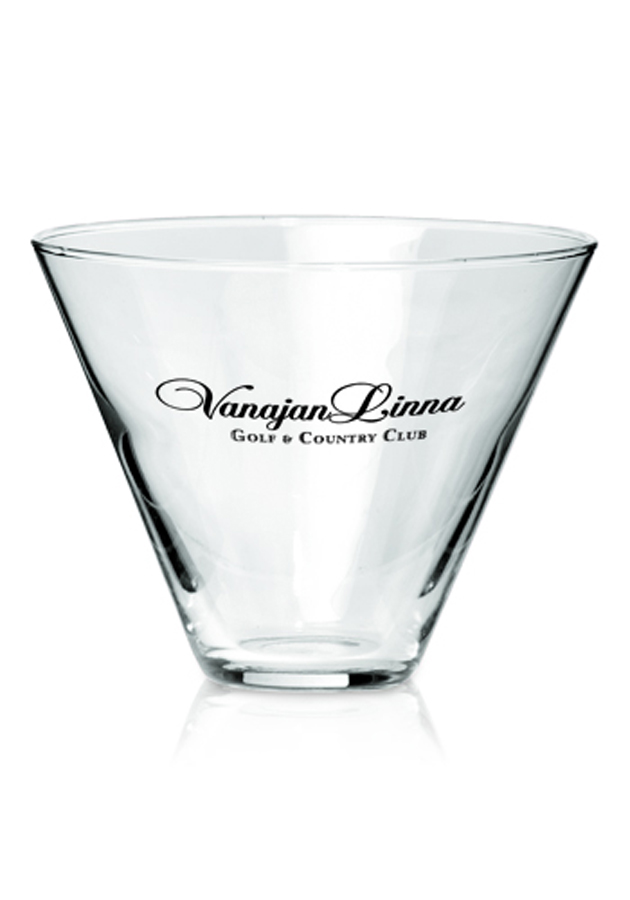 13.5 Oz. Libbey Stemless Martini Glass