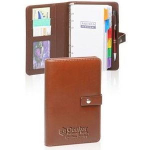 "Brown PU Leather Planners (7.5""x5"")"