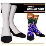 Custom Full Color Custom Sublimated Crew Socks