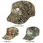 Custom Camo Cotton Twill Cap