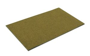 Plain Natural Cocoa Mat (3x5)