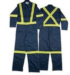 Custom Rasco Hi-Visibility Flame Resistant Coverall