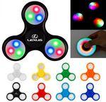 Custom Fidget Hand Spinner LED Light