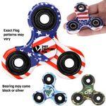 Custom Patriotic Fidget Spinner Toy - USA