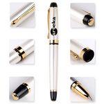 Custom Antonio Chrome Metal Executive Pen