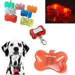 Custom Flashing LED Pet Dog Collar Pendant