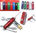 Custom Swiss Army Knife USB Flash Drive 2GB
