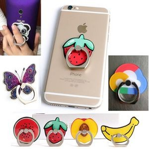 Custom Adhesive Cell Phone Ring holder - Full Color