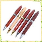 Custom Carved Wood Luxury Pen