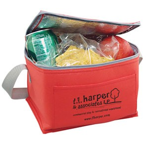 6 Pack Soft Side Lunch Cooler