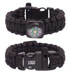 Custom Wild Survival Paracord Bracelet