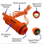 Custom Multifunction Survival Whistle