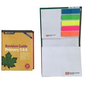 Full Color Notebook w/ Sticky Flags