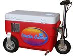 Custom Red Cruzin Cooler 300 Watt