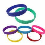 Custom Debossed Silicone Bracelet / Wristband