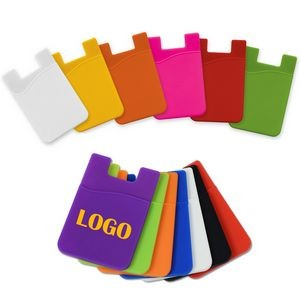 Silicone Cell Phone Wallet/Card Sleeve