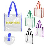 Custom Clear PVC Tote Bag