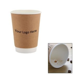 Double Layer Paper Cup For Customized CMYK Ink