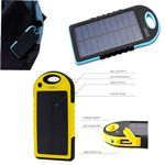 Custom Outdoor solar phone charger 3000mAh