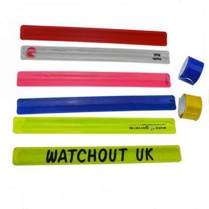 PVC Reflective Slap Wristband