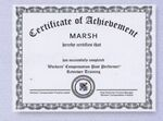 Custom Custom Certificate (3 or Full Color)