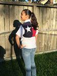 Custom Tiger Hill Youth Texas Flag Fishing Shirt Short Sleeves