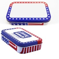 Large Patriotic Mint Tin w/Mints